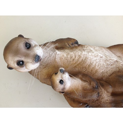 Floating Sea Otter Statue Meerkat Animals Products