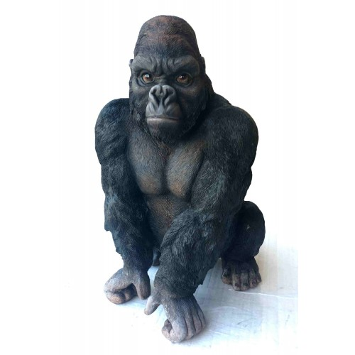 40cm gorilla statue animals products - Gorilla figurines ...