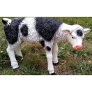 83cm Cow Standing Statue