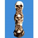 19cm Three Skull Top up