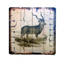 60cm Goat Wooden Wall Decor