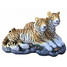 30cm Couple Tiger Lying