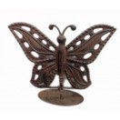 24cm Hanging Butterfly with candle holder