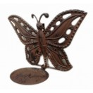 34cm Hanging Butterfly with candle holder