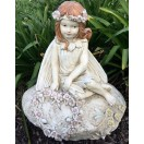 54cm Girl Fairy on Rock