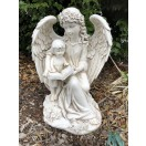 45cm Angel with Child Statue