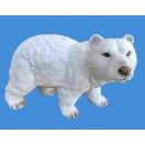 25cm Polar Bear Walking