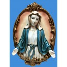 43cm Mary Open Hands Wall Plaque
