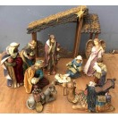 Quality 30cm Nativity Set (13 pcs)
