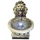 85cm Lion With Bowl Fountain