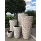 S/5 Flower Pattern Pots