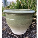 43cm Gradient Green Pot / Planter