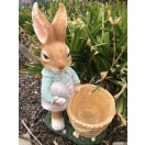 59cm Rabbit with Planter