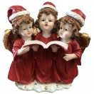 30cm Three Xmas Angel Singing
