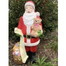 106cm Santa with Gift Bag