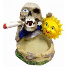 14cm Skull Ashtray